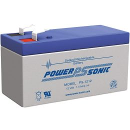POWERSONIC PS1212 12v 1.4ah AGM VRLA Sealed