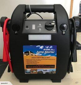 24V Jump Starter 2400 AMP Jump Pack Truck Jump Starter Powertrain 12v/24v