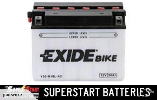 Motorbike Battery – Exide Y50-N18L-A2 12v 20ah S50-N18L-A2