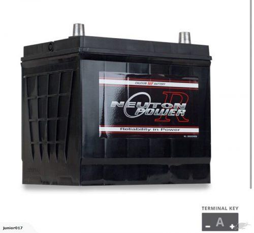 55D23L battery 600 cca NEUTON POWER 36 months warranty 75D23L 90D23L 55D23