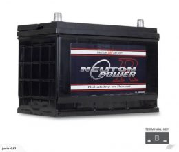N70ZZ BATTERY 820 cca NEUTON POWER 3 year warranty 95D31R
