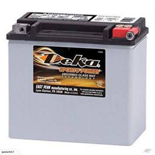 Motorbike battery Deka ETX16L 435 CCA 19AH FREE SHIPPING NATIONWIDE
