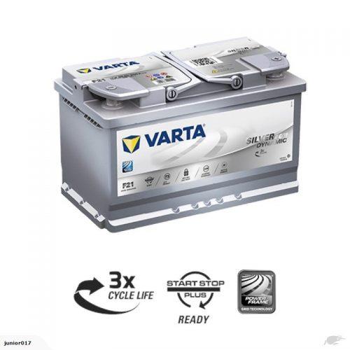 VARTA H15 AGM BATTERY LN6 VARTA DIN110LAGM SILVER DYNAMIC AGM BATTERY 950 CCA