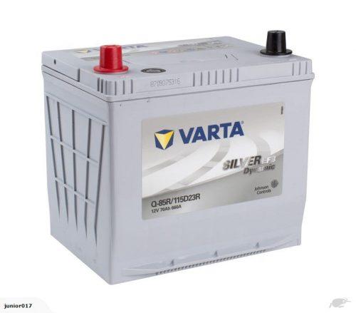 VARTA Q85REFB CAR BATTERY 660 CCA 55D23R BATTERY VARTA 90D23R