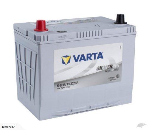 VARTA NS70 CAR BATTERY 720 CCA 130D26R BATTERY VARTA S95REFB