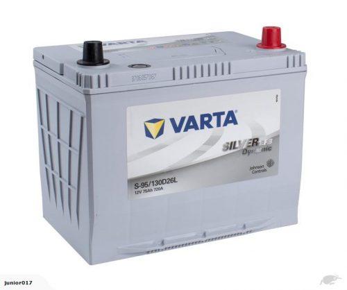 VARTA NS70L CAR BATTERY 720 CCA 130D26L BATTERY VARTA S95LEFB