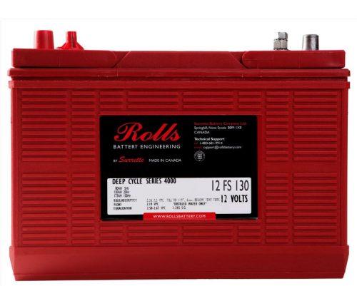 Rolls 12V 12FS130 12v 130Ah Deep Cycle 12FS31 Battery