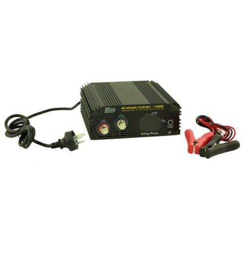 Battery Charger 6/12/24V 7 stage 30 AMP POWERTRAIN PTC30AL