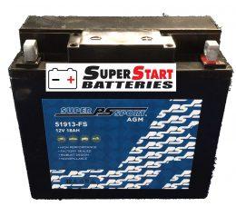 Motorbike Battery AGM 12v 250cca 18ah 51913-FS POWERSONIC BMW 51913