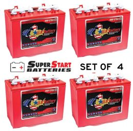 4units of GOLF CART BATTERY 12 Volt 155 AH US battery US 12VRX XC2 FREE SHIPPING TO MAINFREIGHT DEPOT US12V