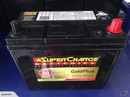 SUPERCHARGE 55B24L 490 CCA GOLD 40 MONTHS WARRANTY
