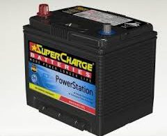 SUPERCHARGE 55D23R BATTERY 500 CCA 24 MONTHS WARRANTY (RIGHT HAND)