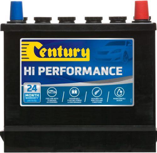 43 CENTURY HI PERFORMANCE CAR BATTERY 350 CCA 24 MONTHS WARRANTY