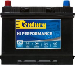 75D26RMF CENTURY HI PERFORMANCE CAR BATTERY NS70R N50ZZR 560 CCA 24 MONTHS WARRANTY