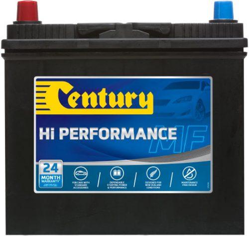 45B24RMF CENTURY HI PERFORMANCE CAR BATTERY NS60 NS60R 400 CCA 24 MONTHS WARRANTY