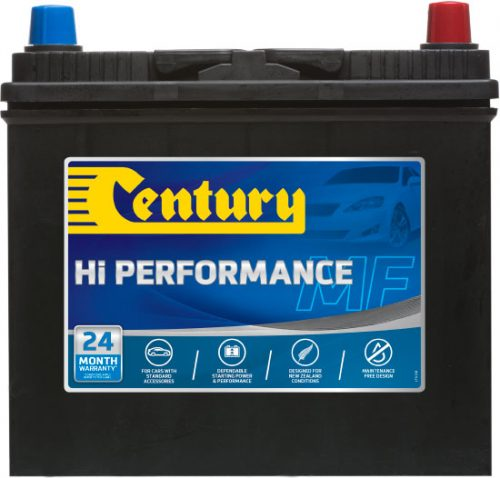 45B24LMF CENTURY HI PERFORMANCE CAR BATTERY NS60 NS60L 400 CCA 24 MONTHS WARRANTY