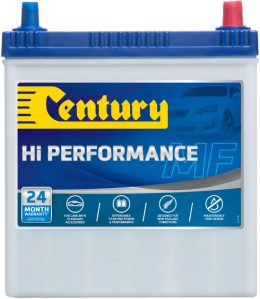 NS40ZLMFHP CENTURY HI PERFORMANCE CAR BATTERY NS40 NS40L 330 CCA 24 MONTHS WARRANTY