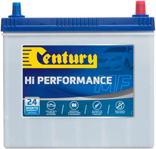 NS60LSMFHP CENTURY HI PERFORMANCE CAR BATTERY NS60 NS60LS 400 CCA 24 MONTHS WARRANTY