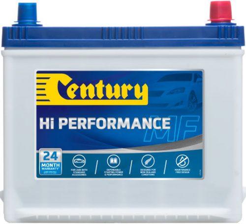 58MFHP CENTURY HI PERFORMANCE CAR BATTERY 58MF 510 CCA 24 MONTHS WARRANTY