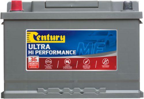 DIN66ZRAGMF CENTURY HI PERFORMANCE AGM CAR BATTERY DIN65 DIN66 710 CCA 36 MONTHS WARRANTY