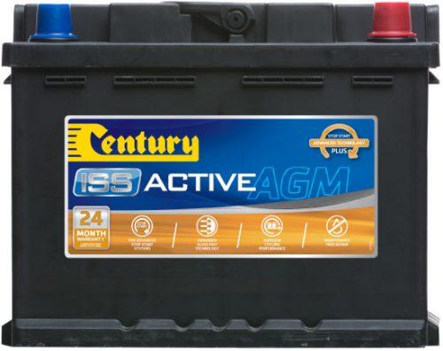 DIN55LAGM Century Start-Stop AGM Battery 12V 640 CCA LN2 DIN55 DIN55L 24 MONTHS WARRANTY