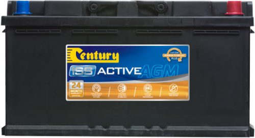 DIN88LAGM Century Start-Stop AGM Battery 12V 850 CCA LN5 DIN85 DIN88H 24 MONTHS WARRANTY