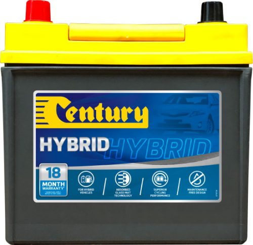 S55D23R Century Start-Stop Battery 12V 550 CCA N50 55D23R 18 MONTHS WARRANTY