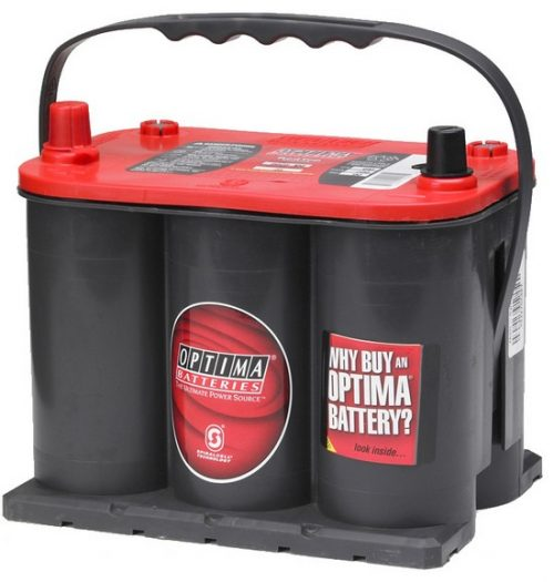 25 Optima REDTOP Deep Cycle & Starting AGM Battery 12V 720CCA 36 MONTHS WARRANTY