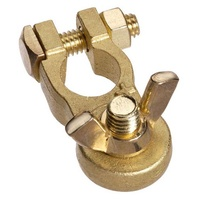 Projecta Brass Battery Terminal Wingnut Marine (Neg) BT14H-N1