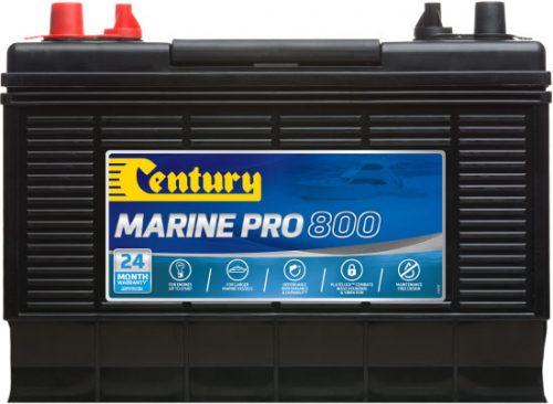 M30MF Century Marine Pro 800 Battery 800 CCA   1000 MCA   90 AH 24 MONTHS WARRANTY