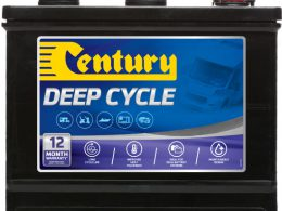 12DC Century Deep Cycle Battery 6V 105AH 12 MONTHS WARRANTY