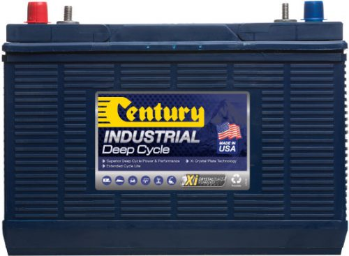 C31DC US Century Deep Cycle Industrial Battery 12V 130AH 12 MONTHS WARRANTY MADE IN USA