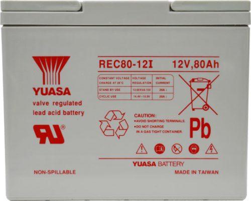 REC80-12 Century Yuasa Deep Cycle Battery 12V 80AH 12 MONTHS WARRANTY