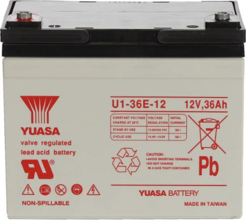 REC36-12 Century Yuasa Deep Cycle Battery 12V 36AH 12 MONTHS WARRANTY