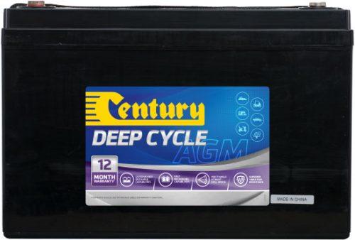 C12-120DA Century AGM Deep Cycle Battery 12V 120AH 12 MONTHS WARRANTY