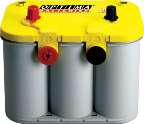 D34-78 Century Optima YELLOWTOP Deep Cycle & Starting AGM Battery 12V 750CCA 36 MONTHS WARRANTY