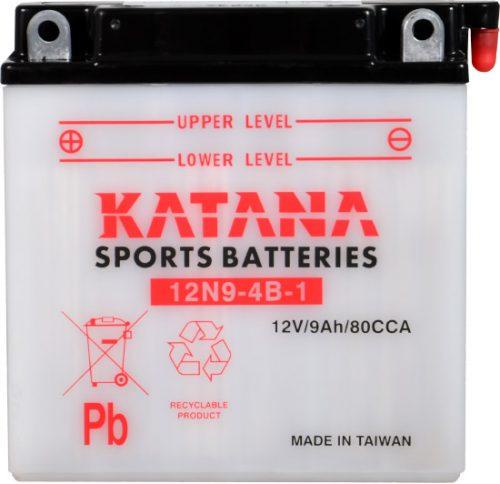 12N9-4B-1 Katana Conventional Motorcycle Battery 12V 85CCA 9AH 6 MONTHS WARRANTY