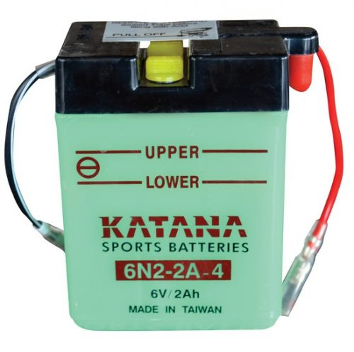6N2-2A-4 Katana Conventional Motorcycle Battery 6V 2AH 6 MONTHS WARRANTY