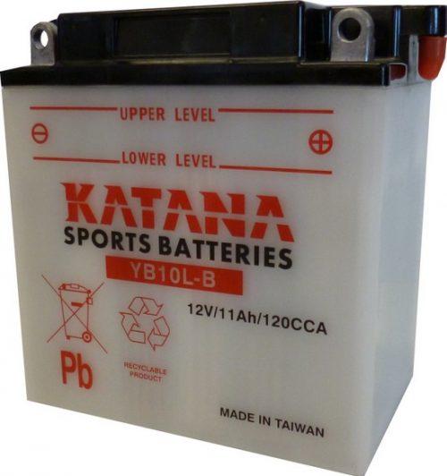 YB10L-B Katana Conventional Motorcycle Battery 12V 11AH 6 MONTHS WARRANTY