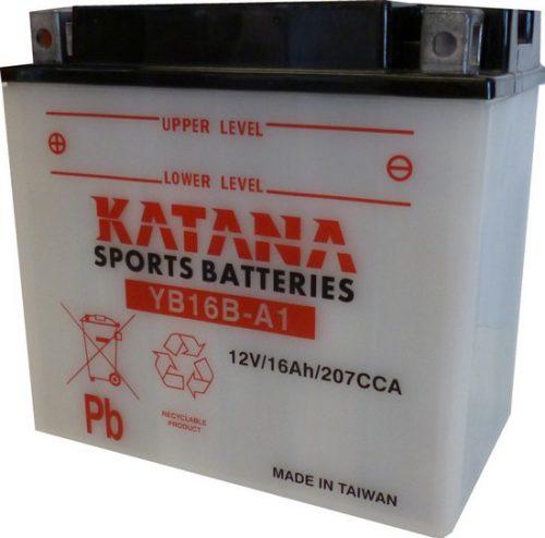 YB16B-A1 Katana Conventional Motorcycle Battery 12V 16AH 6 MONTHS WARRANTY