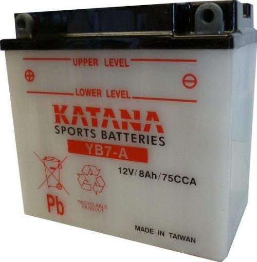 YB7-A Katana Conventional Motorcycle Battery 12V 8AH 6 MONTHS WARRANTY