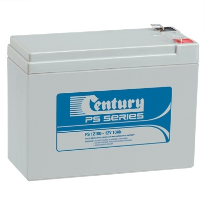 PS12100 Century PS Stationary Power 12v 10ah AGM Deep-Cycle Batteries Sealed