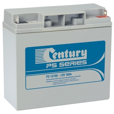 PS12180 Century PS Stationary Power 12v 18ah AGM Deep-Cycle Batteries Sealed