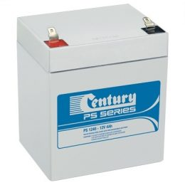 PS1240 Century PS Stationary Power 12v 4ah AGM Deep-Cycle Batteries Sealed