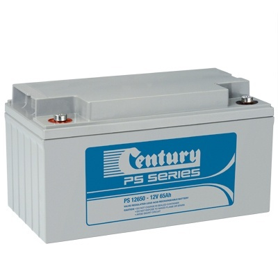 PS12650 Century PS Stationary Power 12v 65ah AGM Deep-Cycle Batteries Sealed