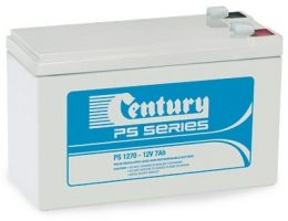 PS1270L Century PS Stationary Power 12v 7ah AGM Deep-Cycle Batteries Sealed