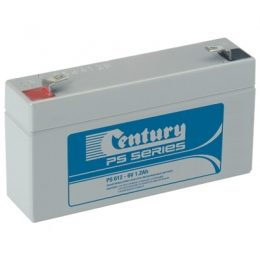PS612 Century PS Stationary Power 6v 1.2ah AGM Deep-Cycle Batteries Sealed