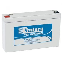 PS670 Century PS Stationary Power 6v 7ah AGM Deep-Cycle Batteries Sealed