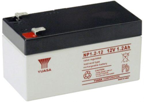 NP1.2-12FR Yuasa NP Stationary Power 12v 1.2ah AGM Deep-Cycle Batteries Sealed
