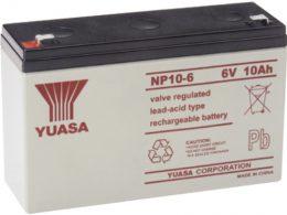 NP10-6FR Yuasa NP Stationary Power 6v 10ah AGM Deep-Cycle Batteries Sealed